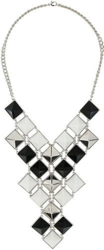 Square Spike Necklace
