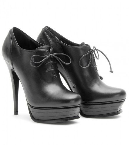 Yves Saint Laurent TRIBUTE 105 LACE-UP BOOTIES