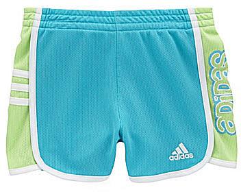 Adidas 2-6X Hot Shot Mesh Shorts