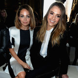 Front Row Celebrities at Paris Fashion Week A/W 2013