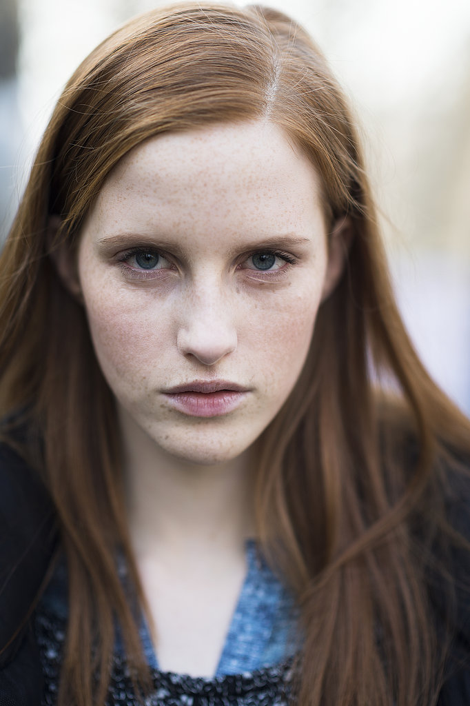 We love how model Magdalena Jasek showed off her freckles. Source: Le 21ème | Adam Katz Sinding