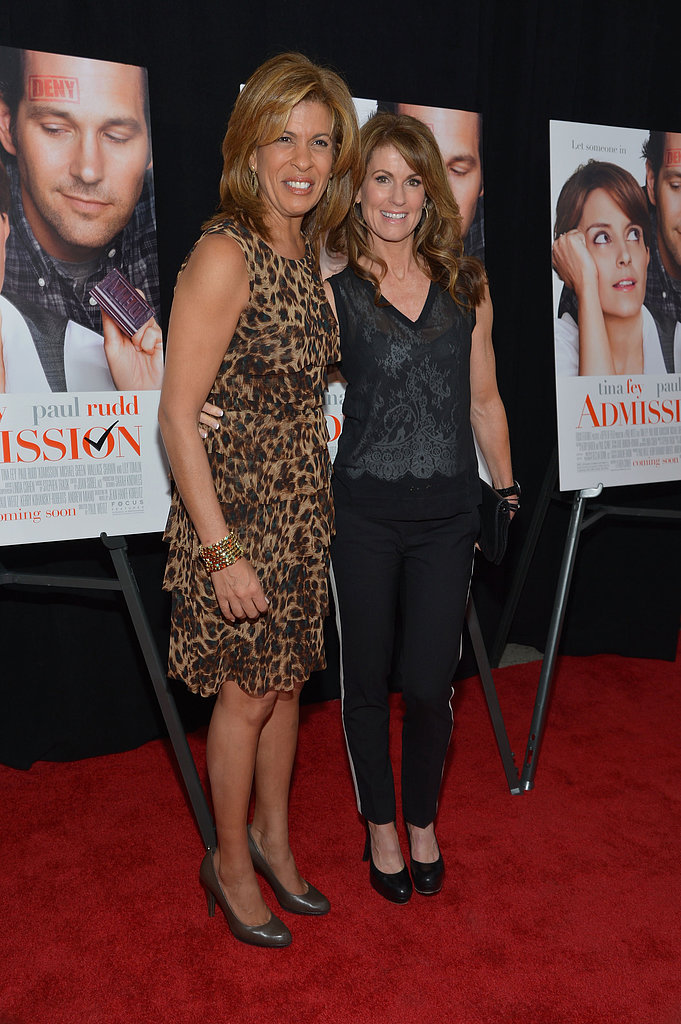 Hoda Kotb walked the red carpet.