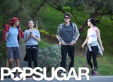Katy Perry and Allison Williams Pair Up For a Walk With Their Guys