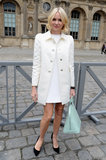 Naomi Watts wore all white.