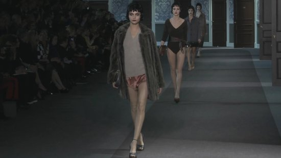 Marc Jacobs Perfects the Art of Boudoir Dressing at Louis Vuitton