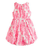 Crewcuts Tea Rose Bubble Dress