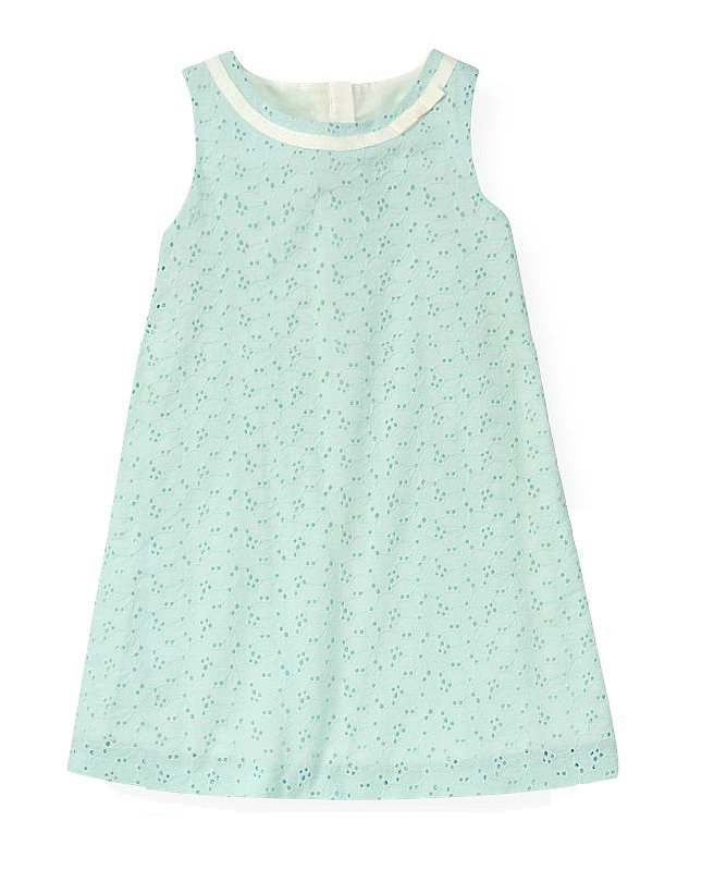 Janie and Jack Eyelet Dress