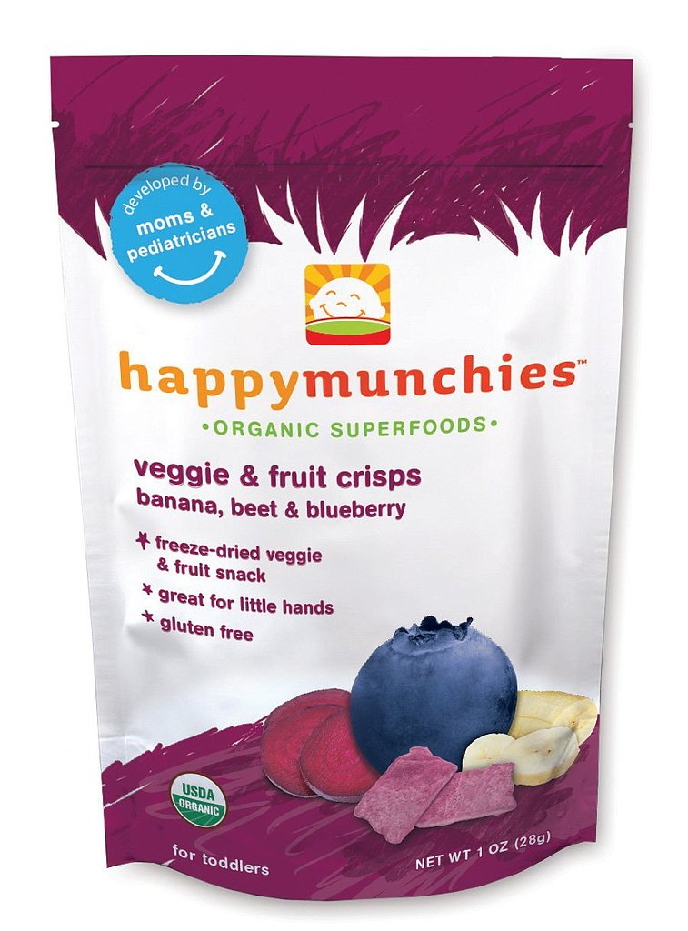 Happy Family Happy Munchies Veggie and Fruit Crisps