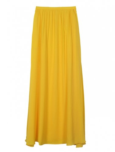 10 Crosby by Derek Lam Mango Maxi Skirt