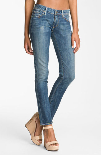 Citizens of Humanity 'Racer' Low Rise Skinny Jeans (Slash)