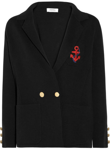 Sonia by Sonia Rykiel Knitted-cotton blazer