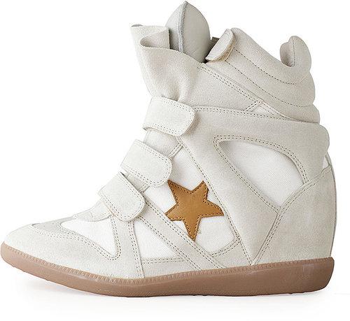 Isabel Marant / Bayley High-Top Sneaker w/Star