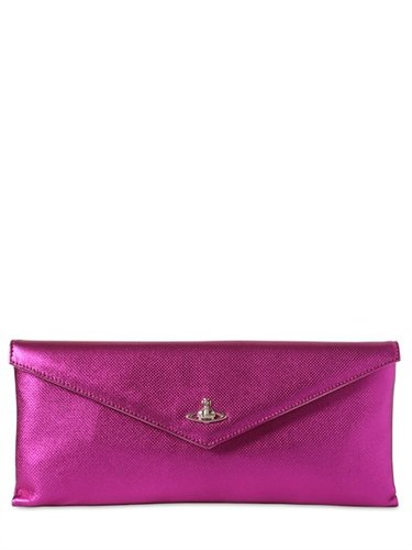 Vivienne Westwood - Laminated Leather Clutch