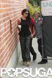 Selena Gomez Hits Up the Recording Studio in LA