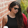 Selena Gomez Working on New Album at Recording Studio