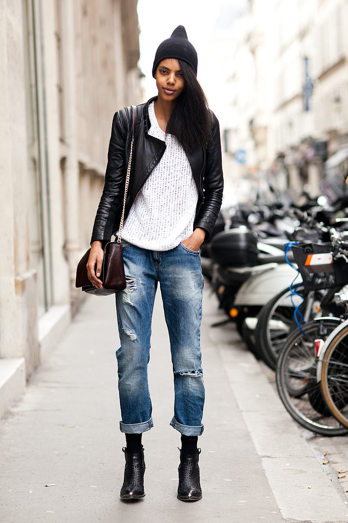 Street Style - Boyfriend Jeans, Distressed Denim