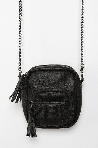 Kimchi Blue Camera Tassel Crossbody Bag
