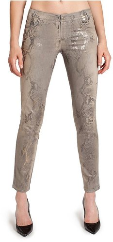Animal Print Skinny Jean