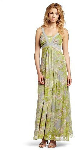 Jessica Simpson Women's V-Neck Maxi Dress