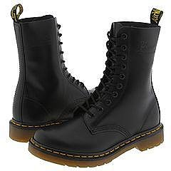 Dr. Martens - 1490 W (Black Smooth) - Footwear