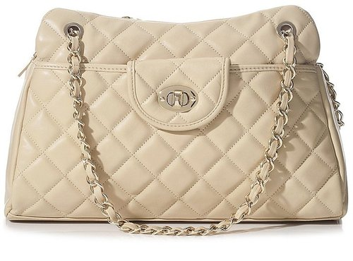 Carly Quilted Satchel