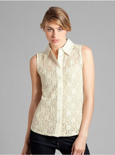 Antonia Sleeveless Lace Top