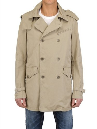 Aiguille Noire Peuterey - Jenkins Nylon And Cotton Trench Coat