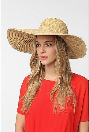 Cheap Monday Floppy Straw Hat