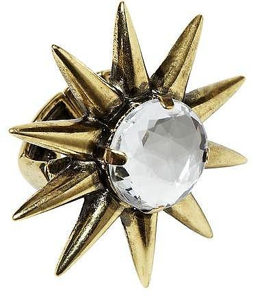 Hive & Honey Spike Flower Ring