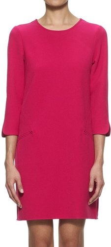 Whistles Iva Shift Dress, Fuchsia