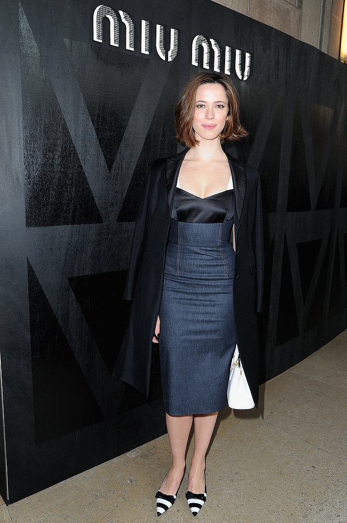 Rebecca Hall at Miu Miu.