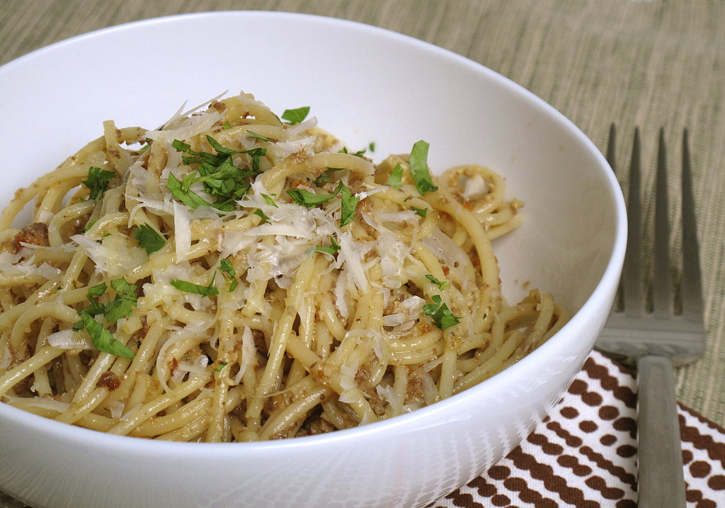 What to Make: Pasta With Morel Pesto