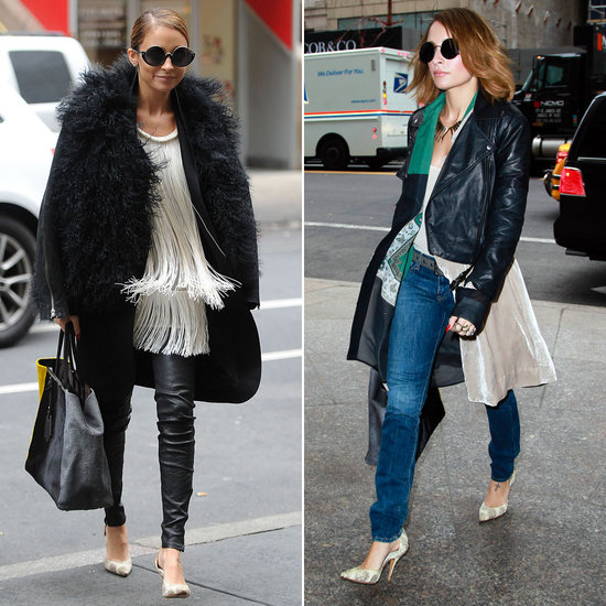 Nicole Richie Swings Through NYC Ahead of Fashion Star's Return