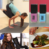 Conquer the Crow Pose and a Perfect Pixie: The Best of POPSUGARTV This Week!