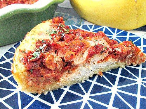 Spaghetti (Squash) Pie