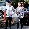 Singer Walking With Friend in LA | Picture