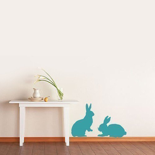 Available in over 20 colors, these removable bunny wall decals ($13) can be applied to windows or painted surfaces. Not just limited to Easter decor, we could see these being used to great effect in nurseries and kids' rooms.