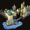 Mom Creates Unbelievable LEGO Hogwarts