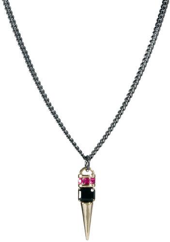 ASOS Jewel Spike Short Pendant Necklace