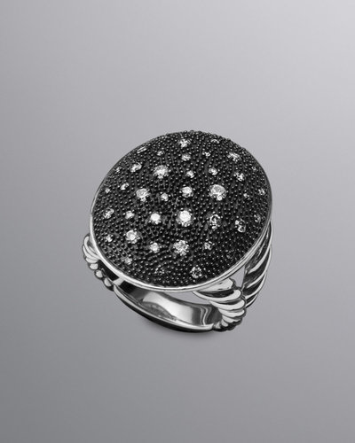 David Yurman Starlight Ring, Pave Diamonds