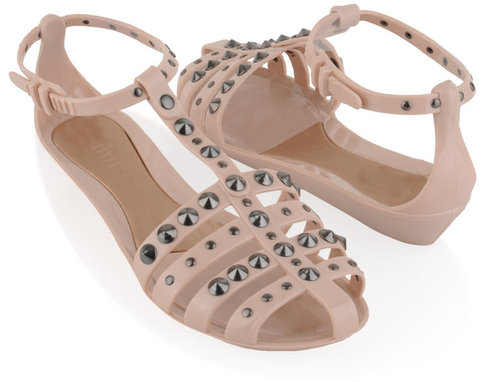 Forever 21 Studded Jellies