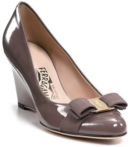 "Salvatore Ferragamo ""Flo"" Wedges"