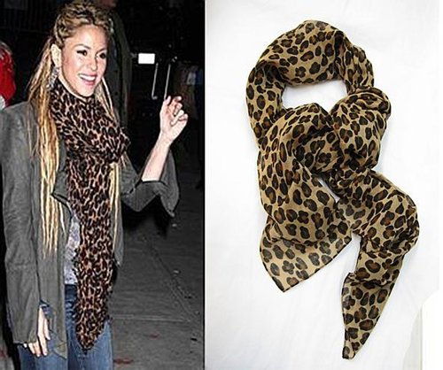 Leopard Scarf