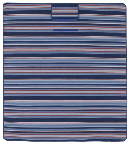 Epicurean Beach Stripe Picnic Blanket