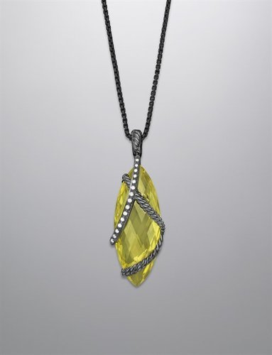 Cable Wrap Enhancer, Lemon Citrine