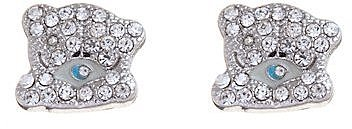 Diamante Bear Studs
