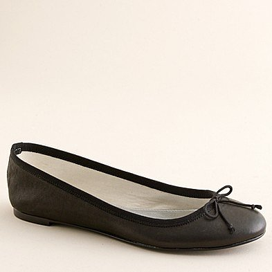 Leather classic ballet flats