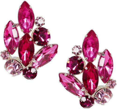 ASOS Stone Bouquet Stud Earrings