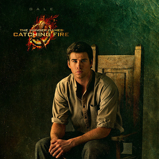 Gale Portrait Poster The Hunger Games Catching Fire