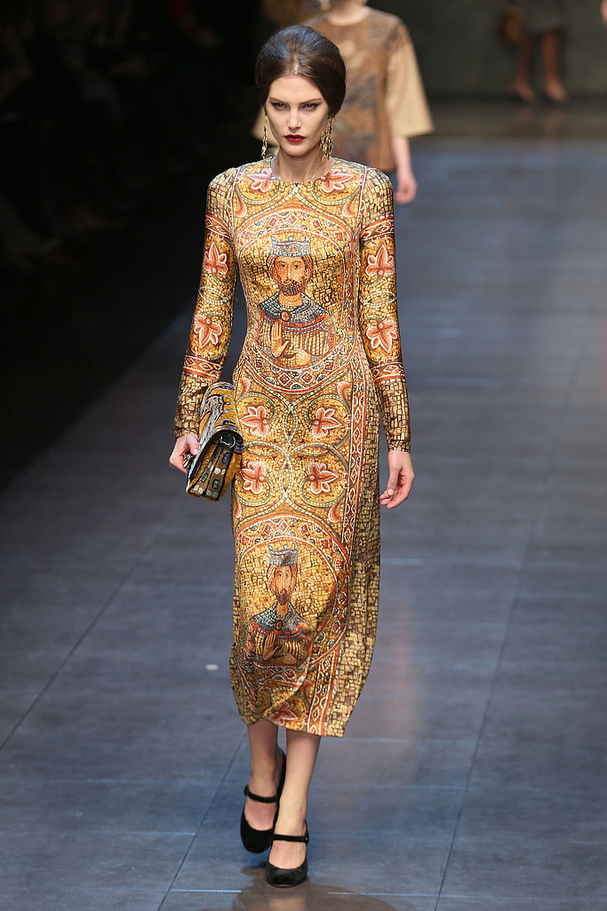 Catherine McNeil for Dolce & Gabbana, Milan